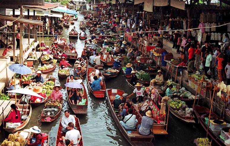 Damnoen Saduak floating market107